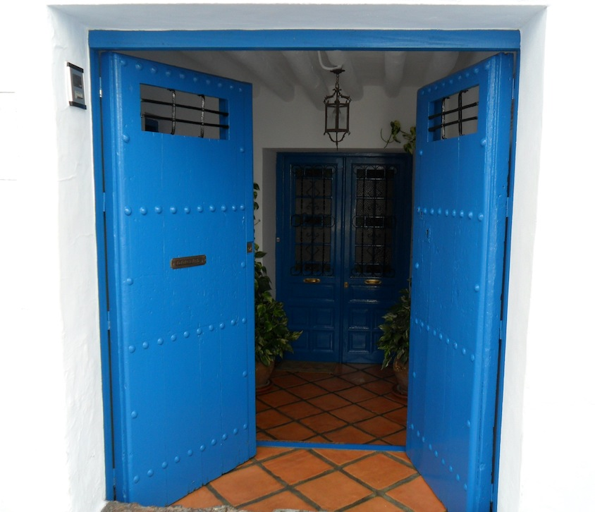 Open blue door - counselling approach